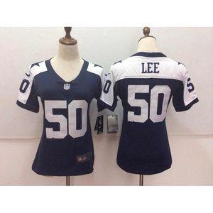 Women Dallas Cowboys Sean Lee Jersey (3)